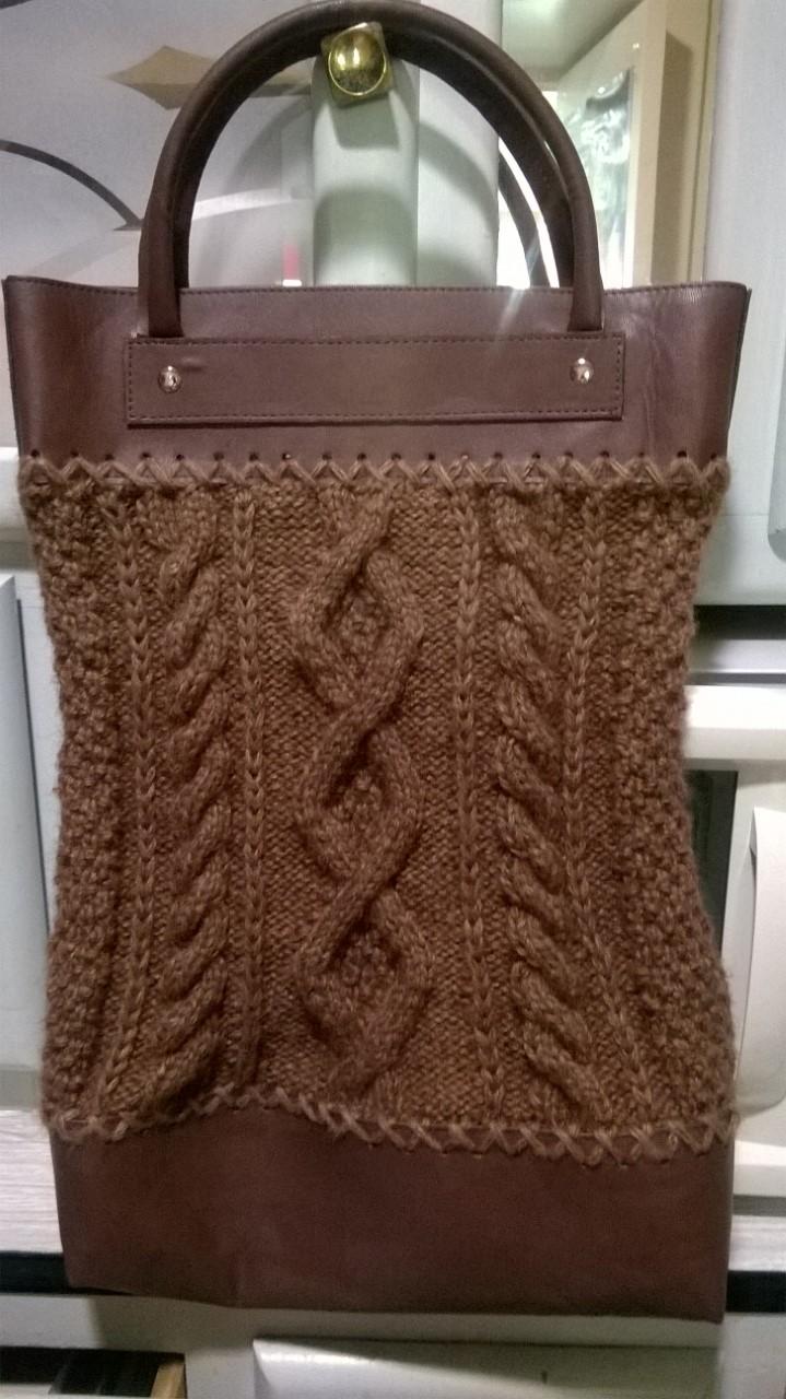 A la fileuse le mele sur sarthe sac en tricot