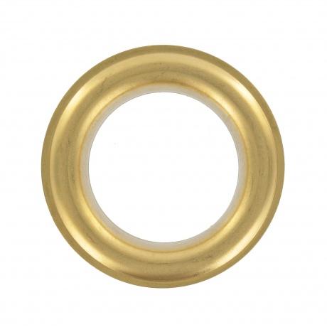 Oeillet rideau 40 mm / laiton poli - 3B Com