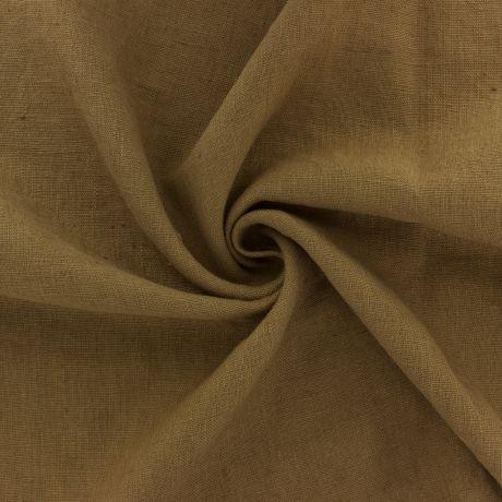 Tissu Harmony lin propriano tabac